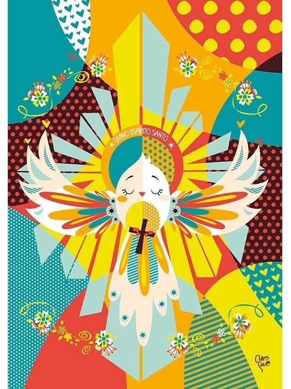 Poster Divino Espírito Santo - A4