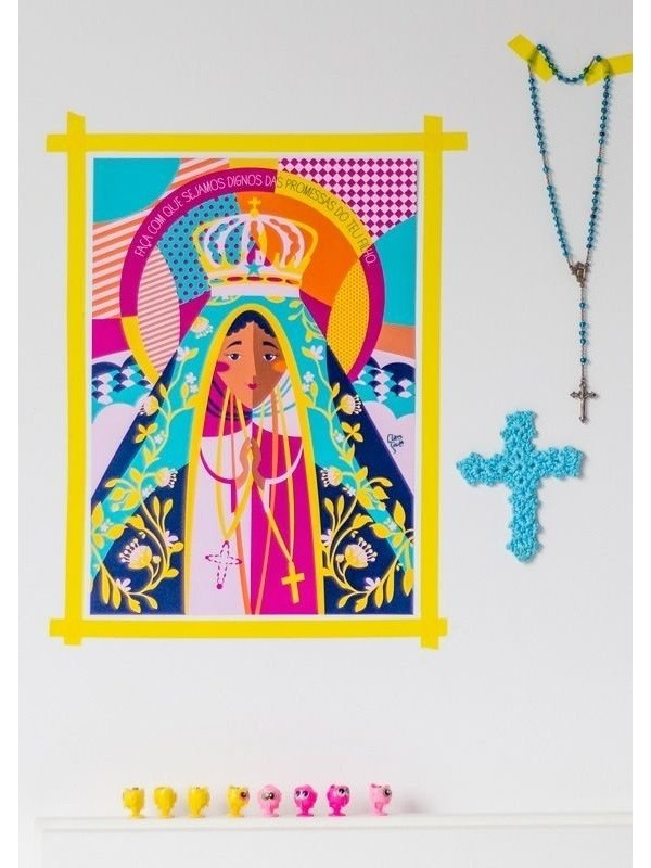 Poster Nossa Senhora Aparecida - A3