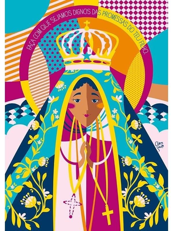 Poster Nossa Senhora Aparecida - A4