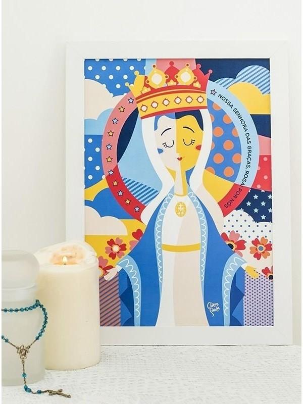 Poster Nossa Senhora das Graças - A3