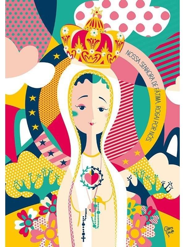 Poster Nossa Senhora de Fátima - A3