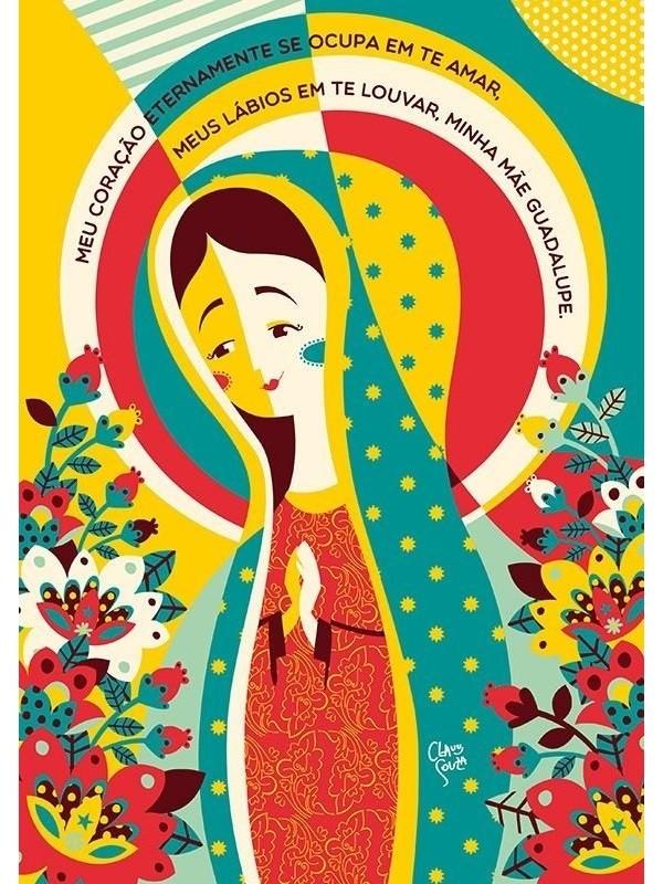 Poster Nossa Senhora de Guadalupe - A4