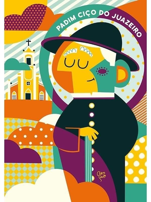 Poster Padre Ciço - A4