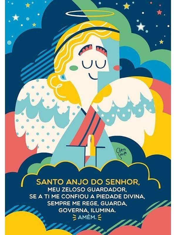 Poster Santo Anjo - A3