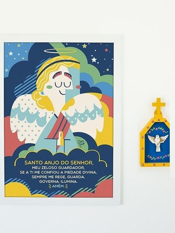 Poster Santo Anjo - A4