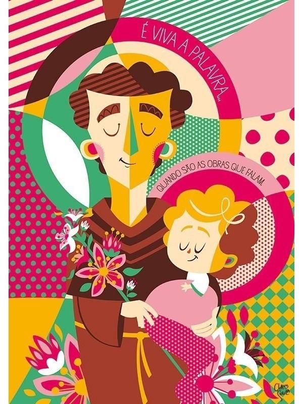 Poster Santo Antonio - A4