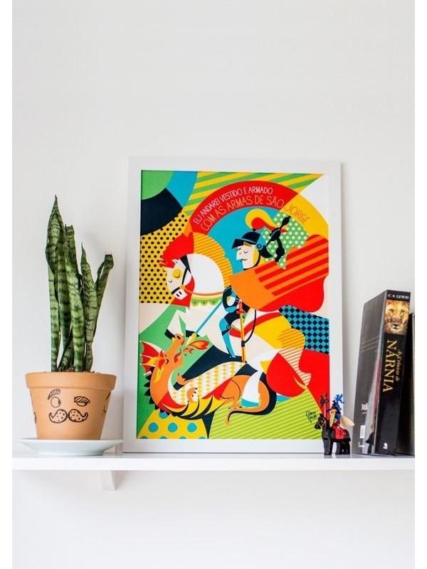 Poster São Jorge - A4