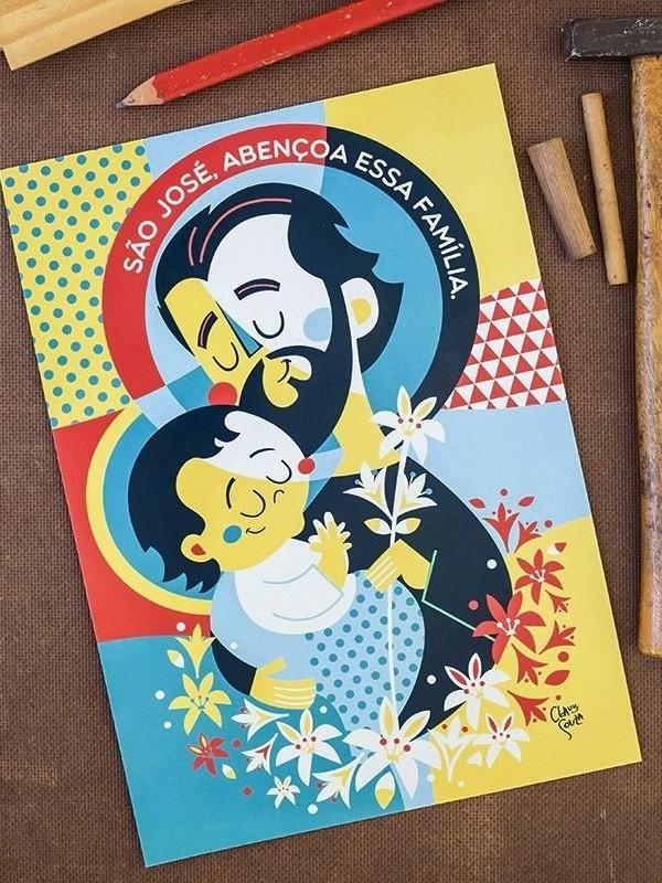 Poster São José - A3