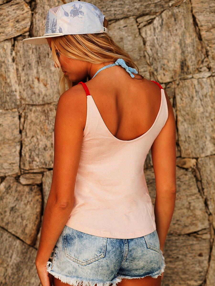 Camiseta Pompom - Rosè