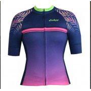 Camisa Ciclismo Eva Azul - Ciclopp