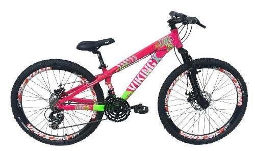 Bicicleta Vikingx Aro Vmax Freio Hidráulico Shimano Spinner
