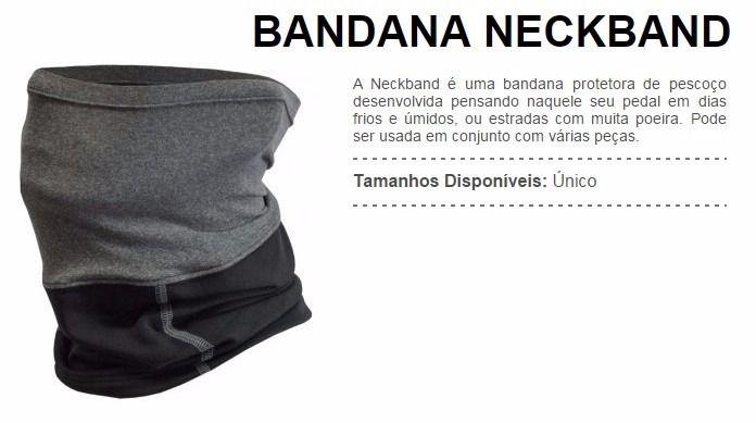 Bandana Neck Band Tamanho Único - Free Force