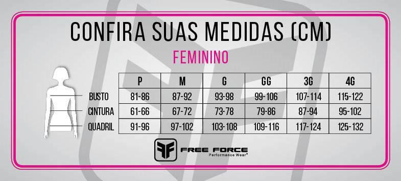 Bermuda Ciclismo Feminina Queen Preta/Rosa - Free Force