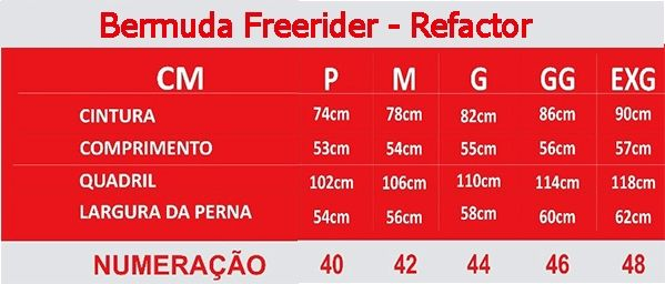 Bermuda Ciclista Com Forro Densidade 80 Freerider Refactor