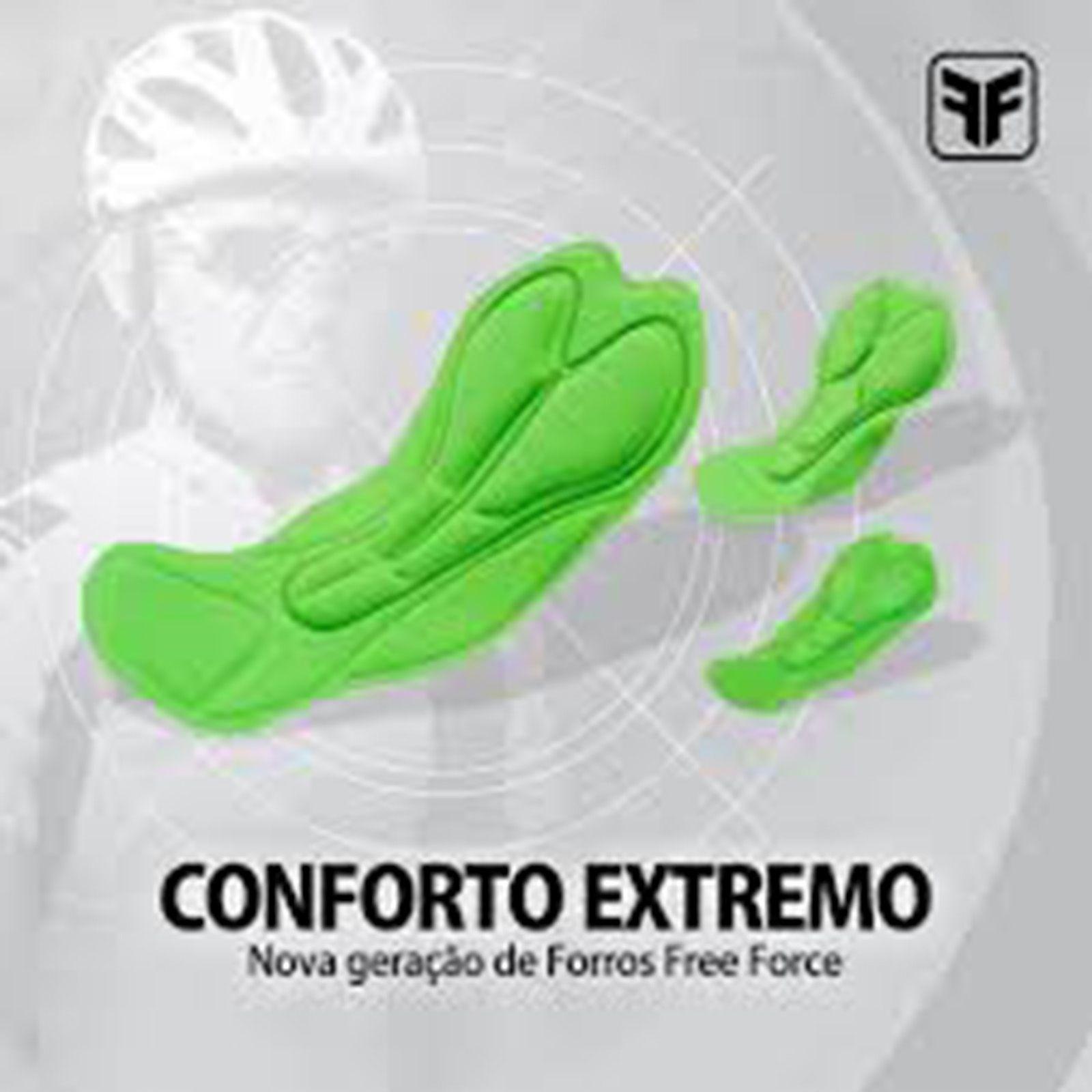 Bermuda Masculina Neo Contour Preta - Free Force