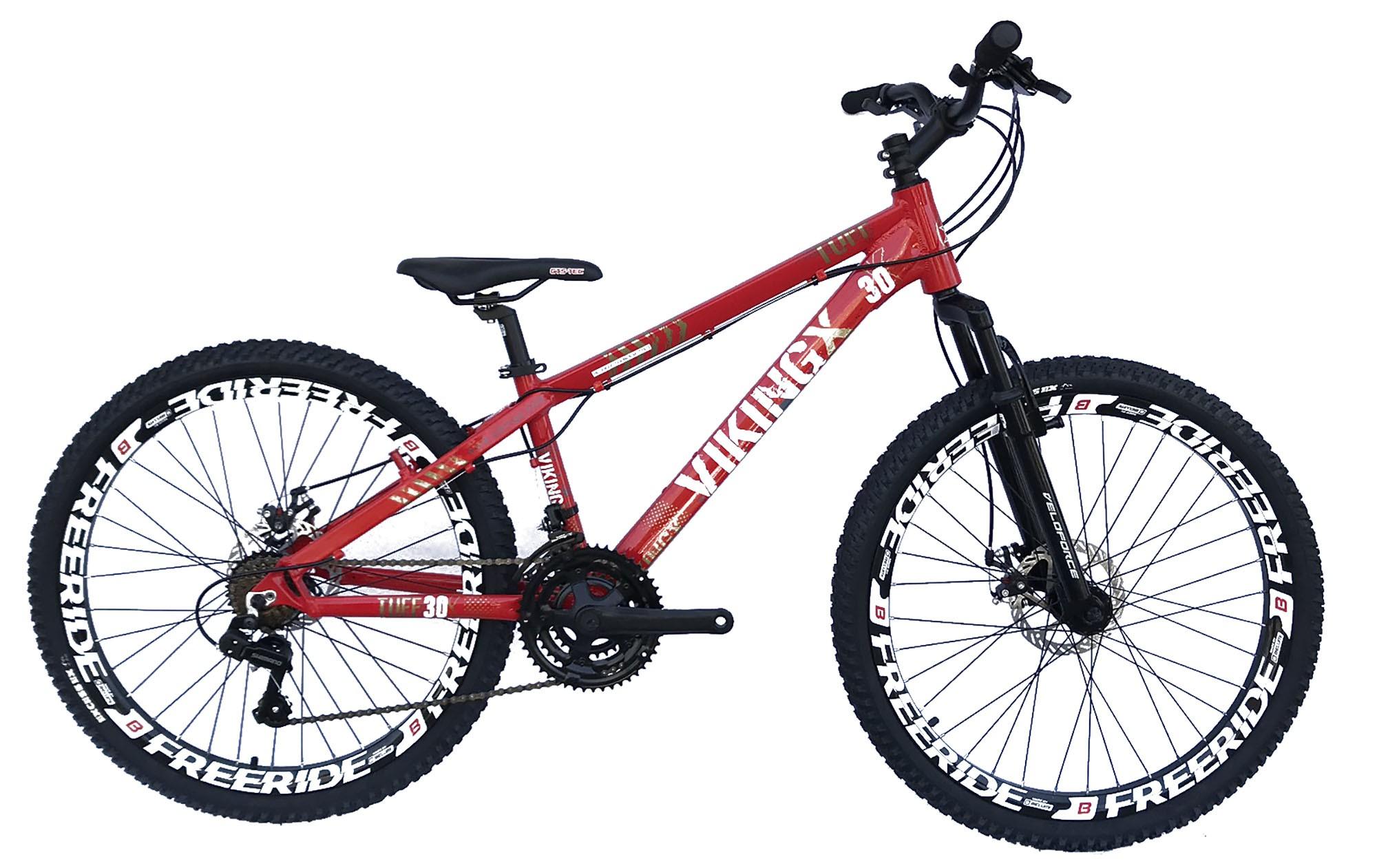 Bicicleta 26 Freeride Vikingx Tuff30 21v Imp/Shimano Freio Disco
