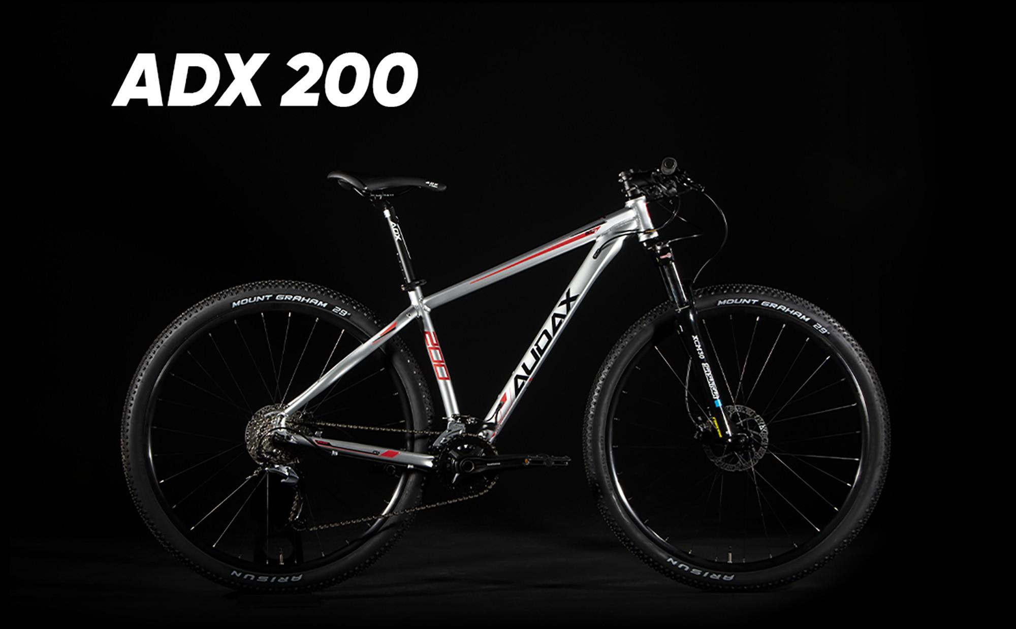 """BICICLETA 29 ADX 200 TAM 15"""" 2020 18V - AUDAX"""