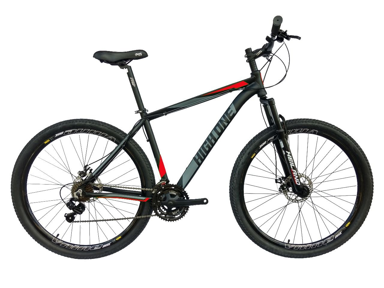Bicicleta 29 New Strong High One 21V Cambios Shimano Freio a Disco Mecânico