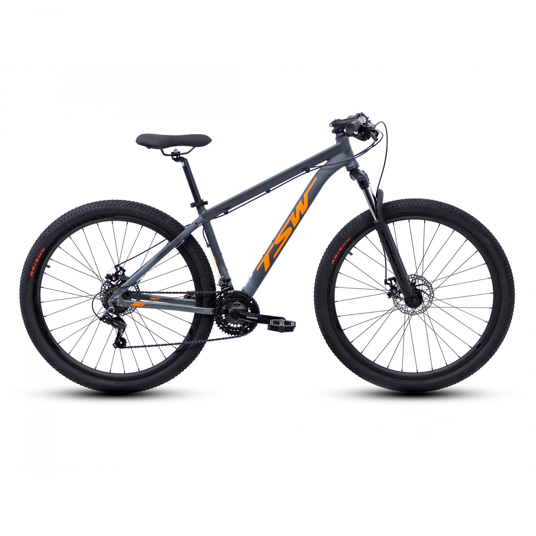 Bicicleta 29 Ride 21v Cinza/Laranja - TSW
