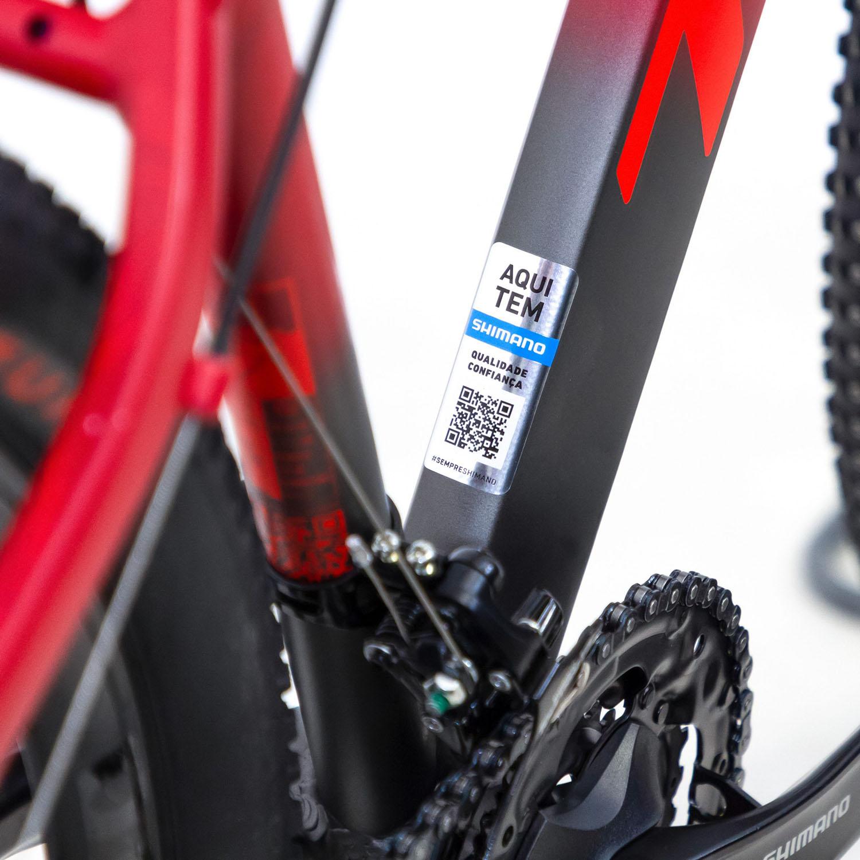 Bicicleta 29 Ride 21v Vermelho/Cinza - TSW
