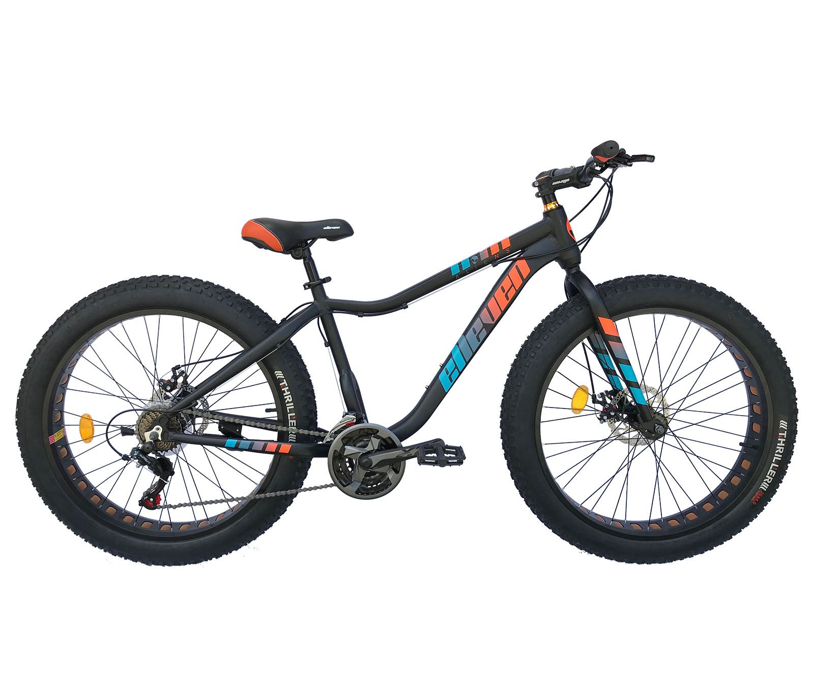 Bicicleta Aro 26 Fat Aliens 21v Elleven