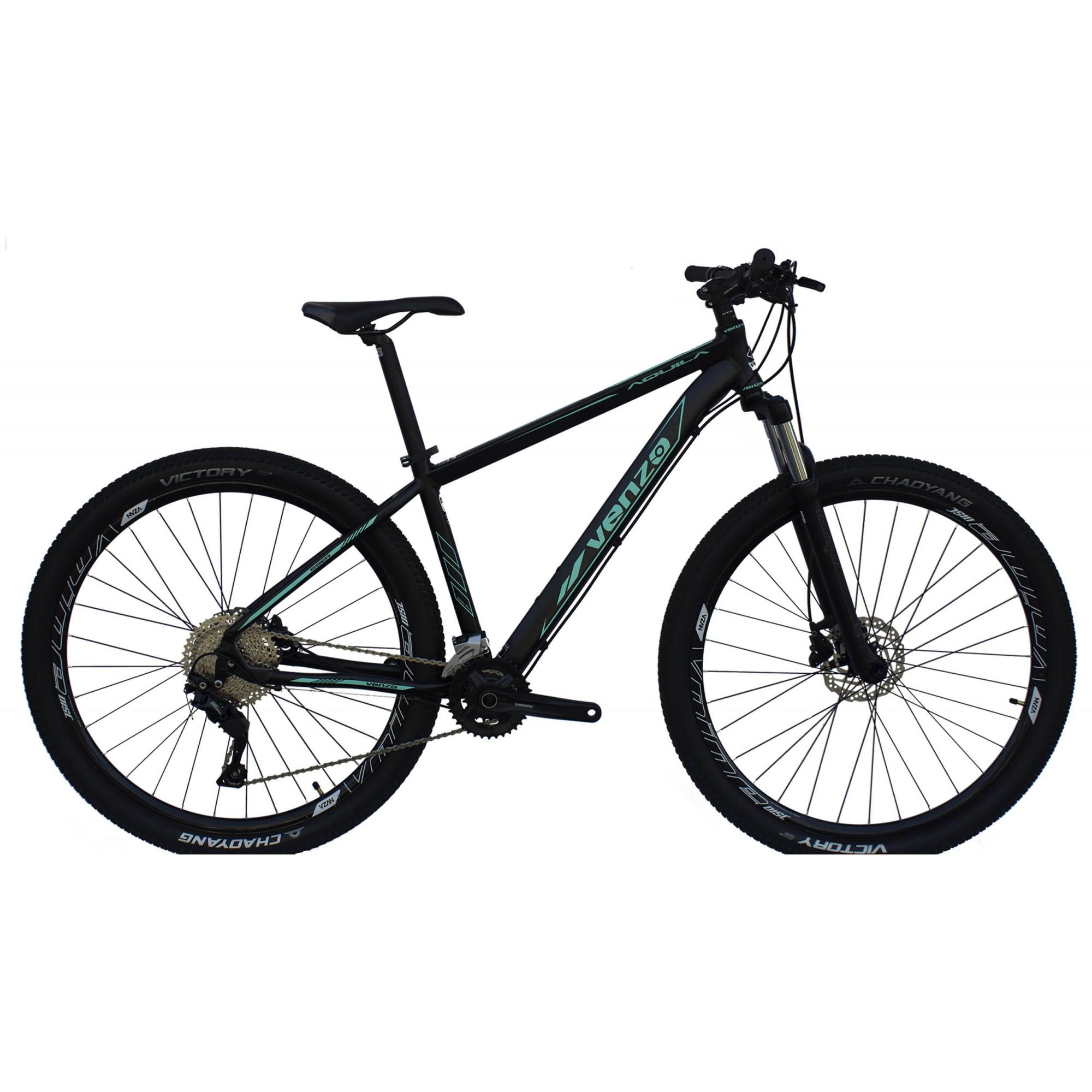 Bicicleta Aro 29 Aquila Venzo 20v Freio Hidraulico Trava Ombro