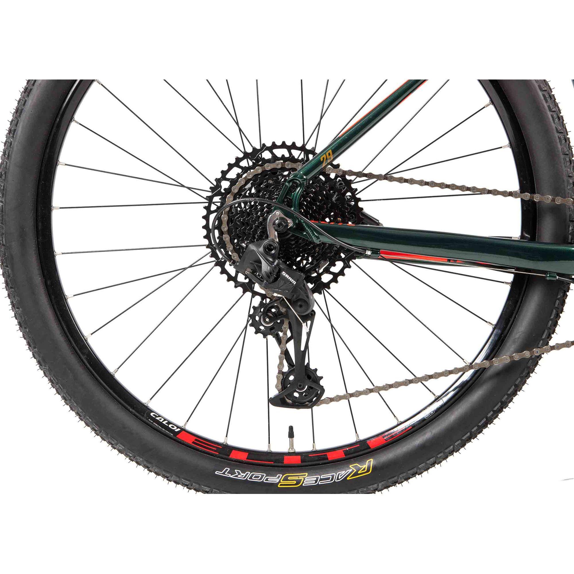 Bicicleta Aro 29 Elite Sram SX 12V Verde A20 - CALOI