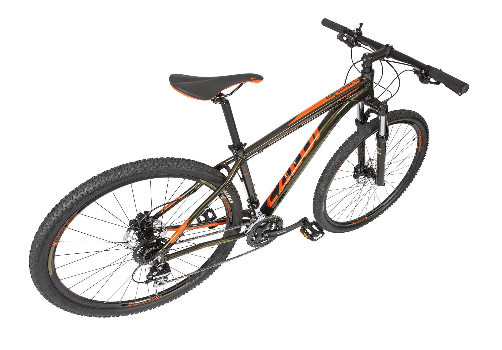 Bicicleta Aro 29 Explorer Comp  24V Verde 2020 - CALOI