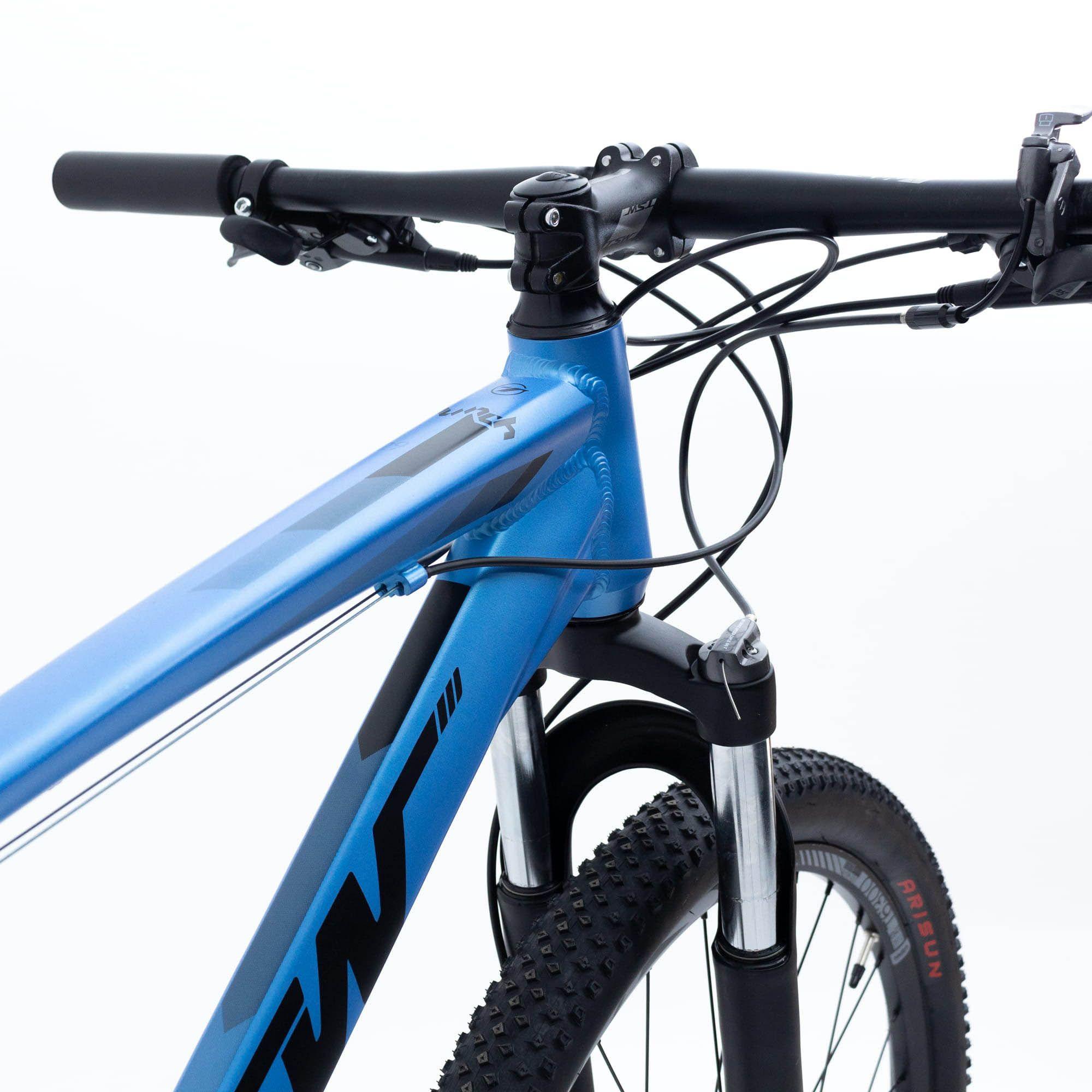 Bicicleta Aro 29 Hunch 24v  Shimano Susp Trava 17 Azul - TSW
