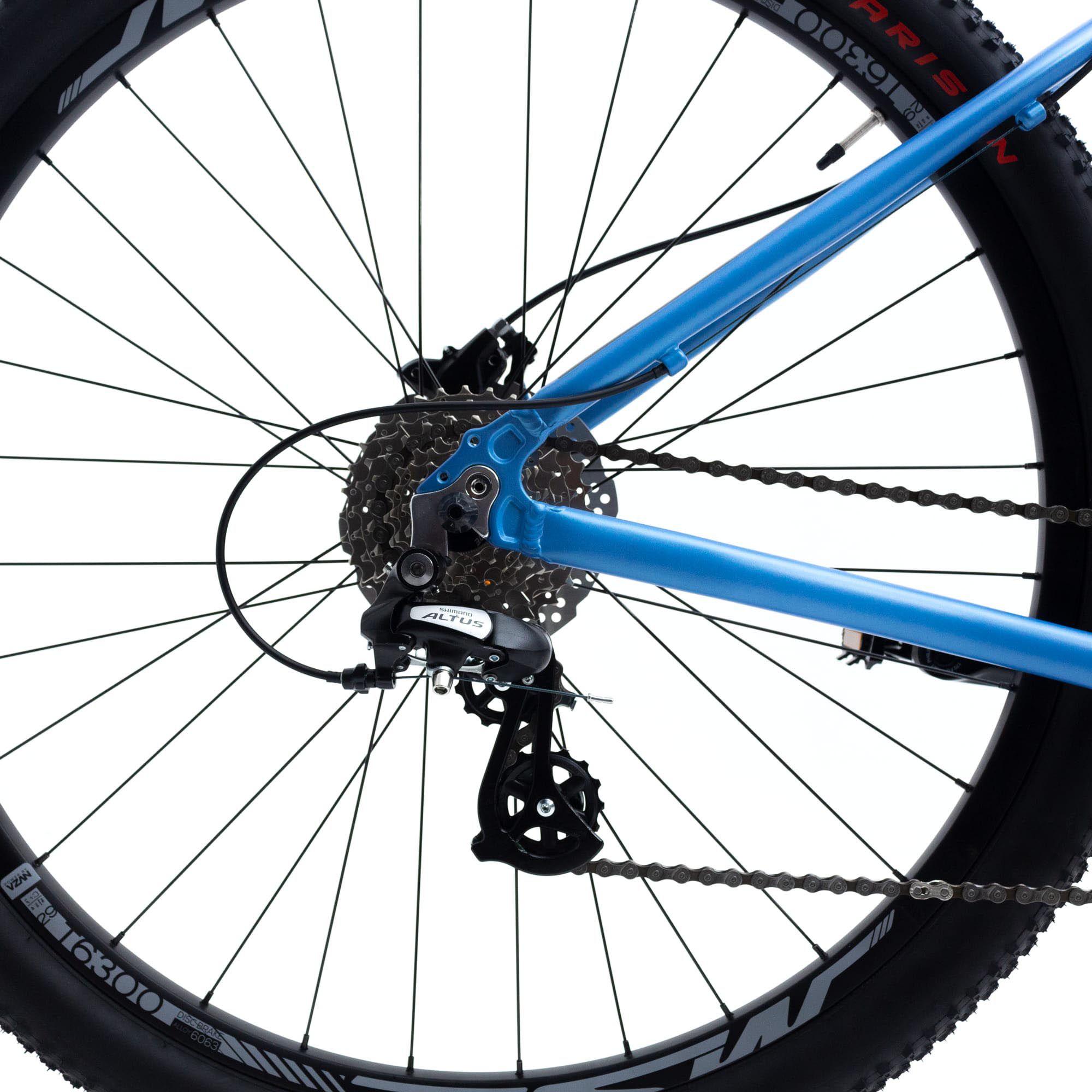 Bicicleta Aro 29 Hunch 24v  Shimano Susp Trava Azul - TSW