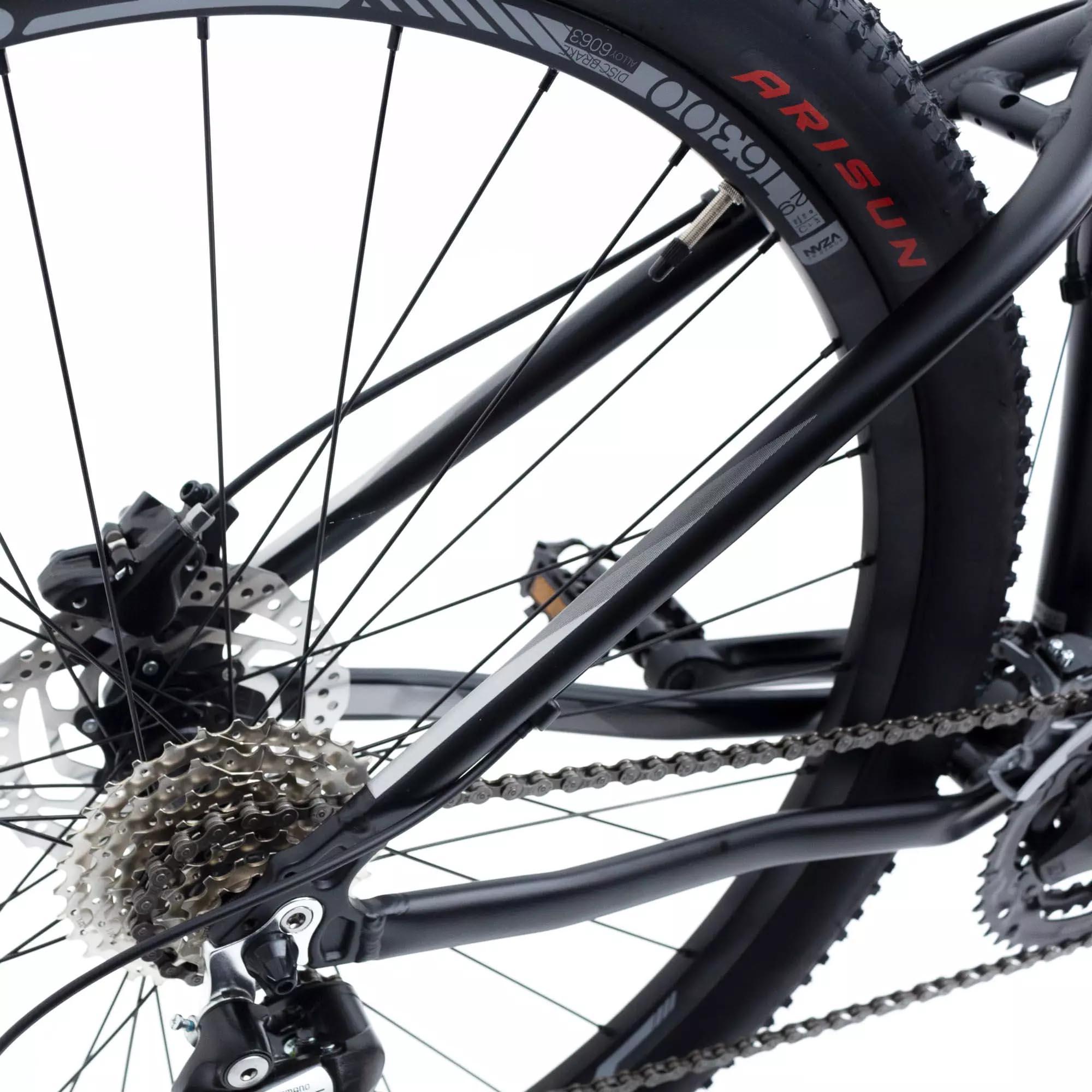 Bicicleta Aro 29 Hunch 24v  Shimano Susp Trava Preta - TSW
