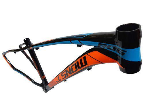 Bicicleta Aro 29 J. Snow 27v Shimano Freio Hidraulico Susp com Trava Guidão