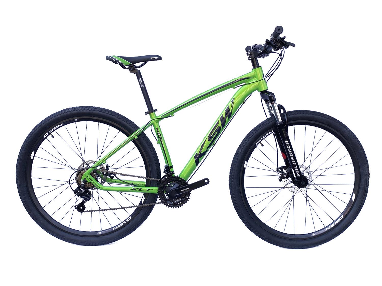 Bicicleta Aro 29 KSW 21V Shimano Freio a Disco