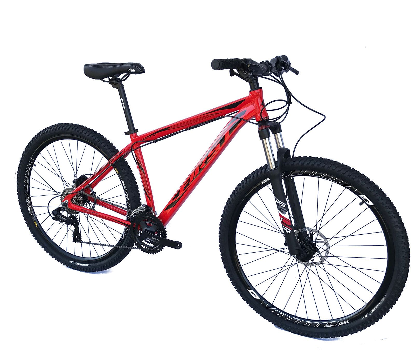 Bicicleta Aro 29 Lifty First 24v Shimano Freio Hidraulico Susp c/ Trava Ombro