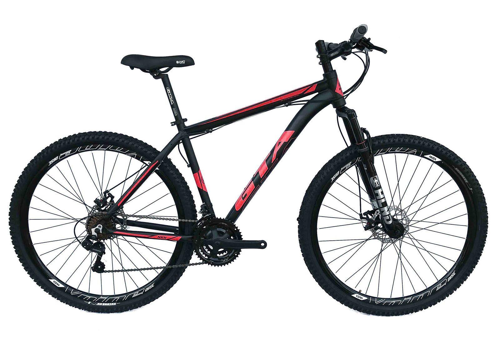 Bicicleta Aro 29 NX11 GTA 21V Câmbios Shimano PDV/Alav Impor Freio a Disco