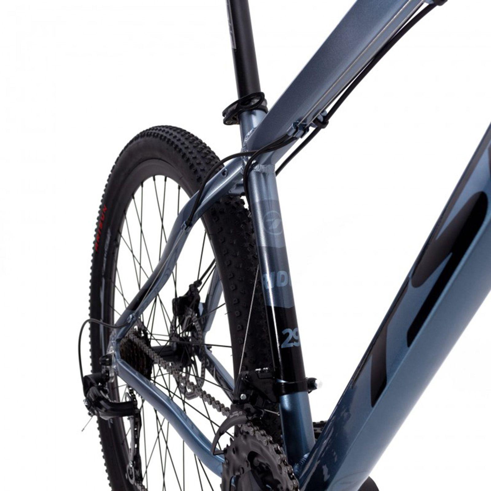 Bicicleta Aro 29 TSW Ride Cinza Metálico 21v Shimano Freio a Disco