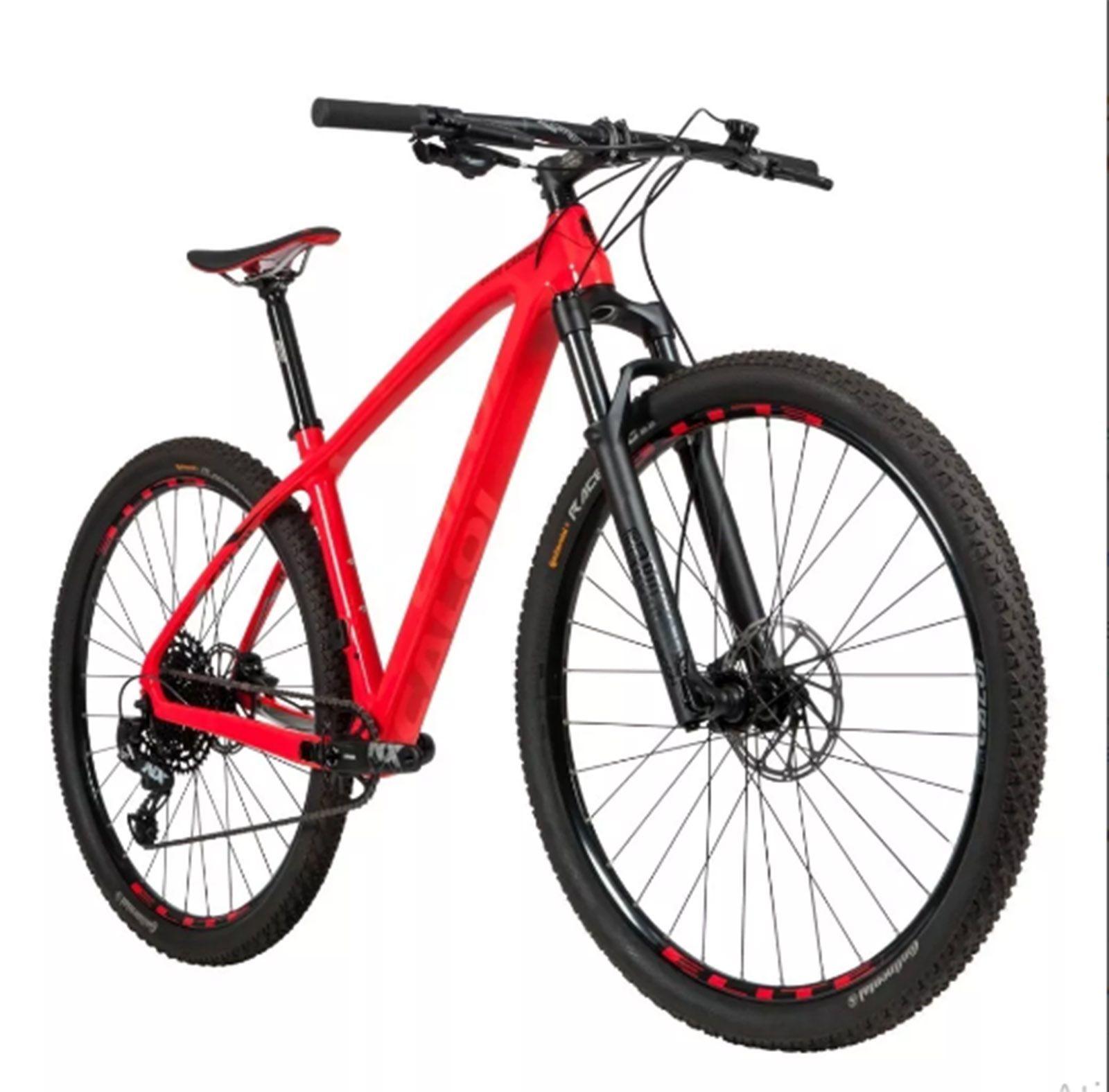 Bicicleta Caloi Carbon Sport 2020 M Vermelha