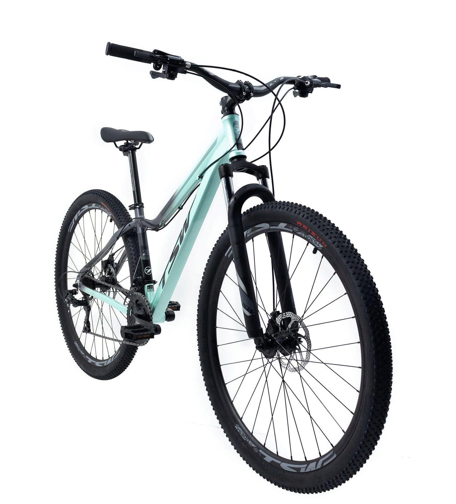 Bicicleta Feminina Aro 29 TSW Posh  21v Shimano Freio a Disco
