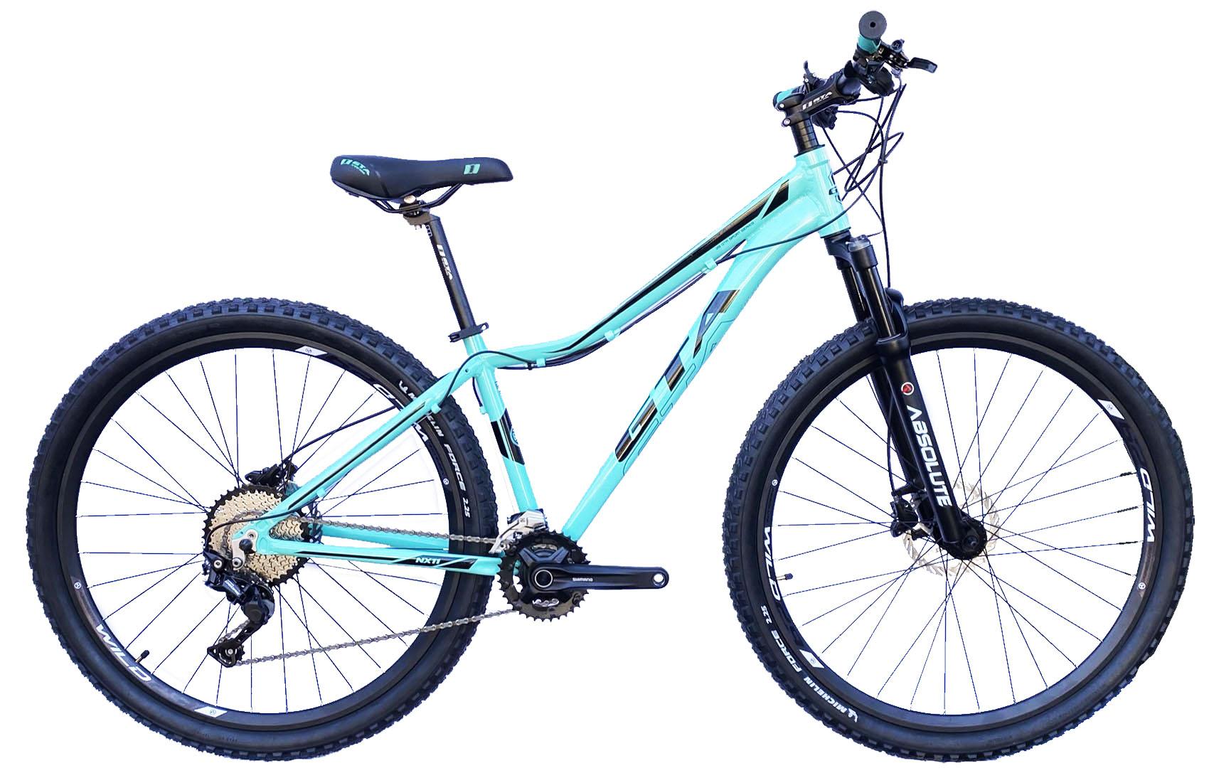 Bicicleta 29 Feminina NX11 20v Suspensão com Trava no Guidão - Absolute