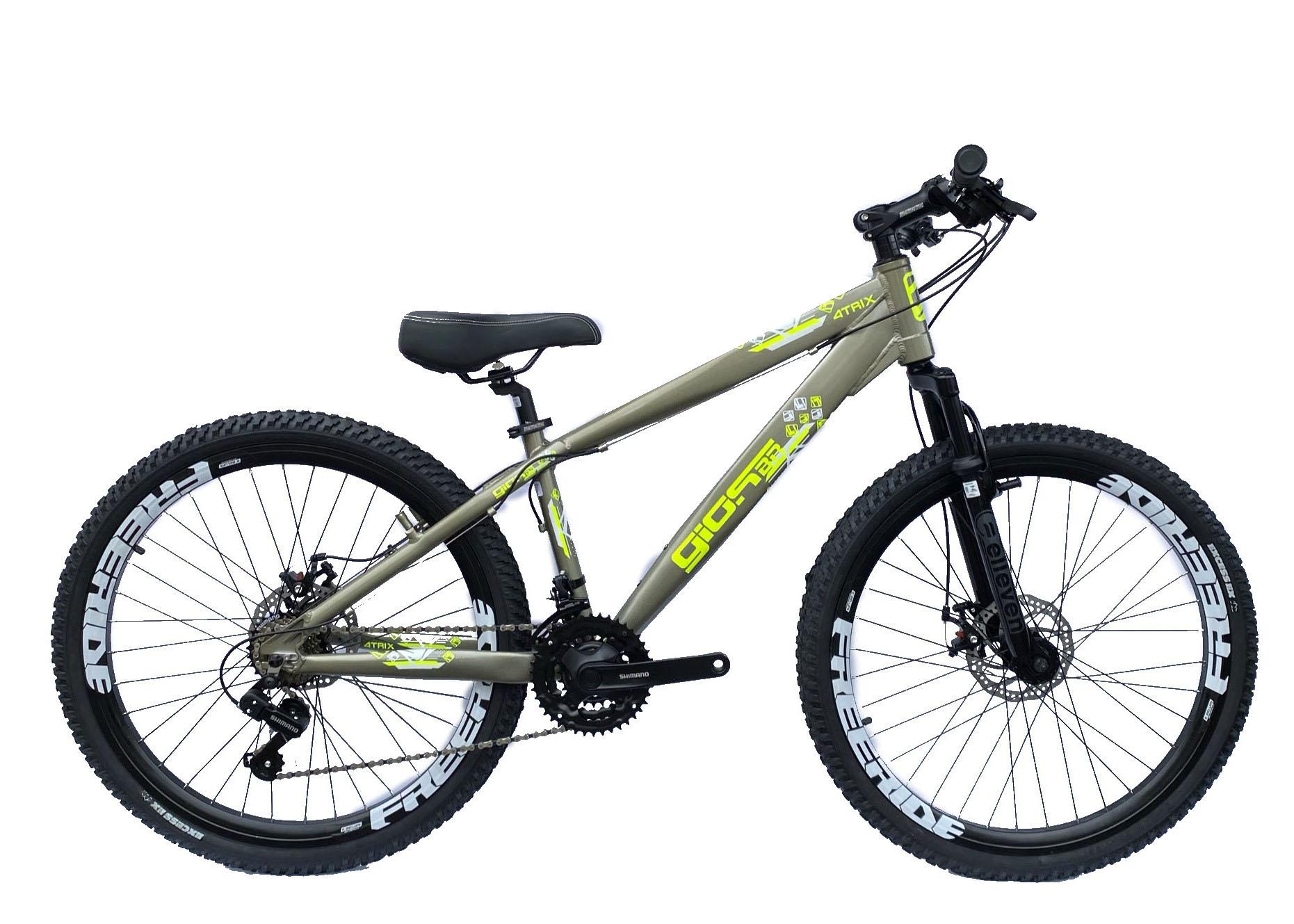 Bicicleta Gios 4TRIX 21v Shimano Freio a Disco