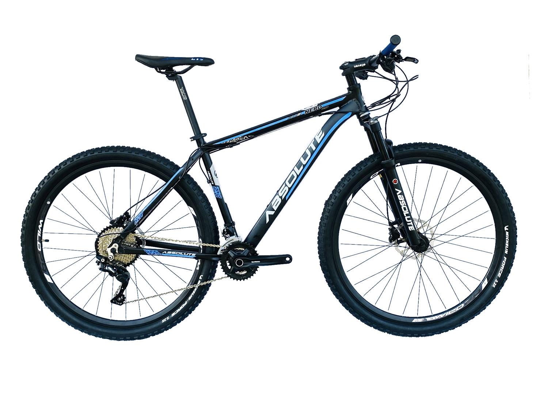 Bicicleta Nero 20v Deore Suspensão com Trava no Guidão - Absolute