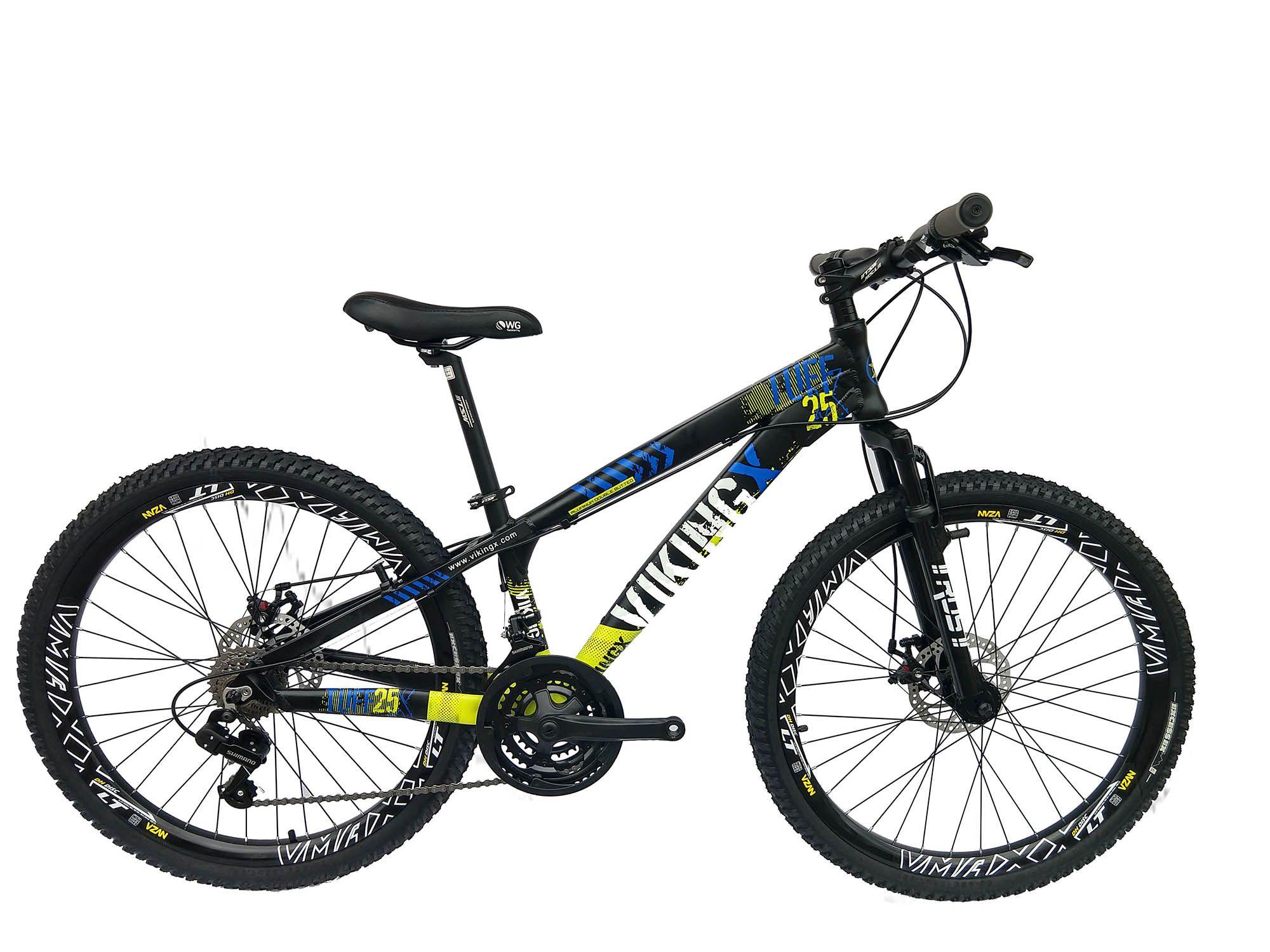 Bicicleta Viking 21v Cambio Shimano Freio A Disco Aro Vmaxx
