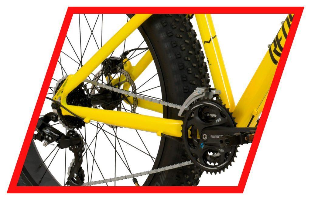 Bike 26 FatBoy 24v TM 16 Amarela - Redstone