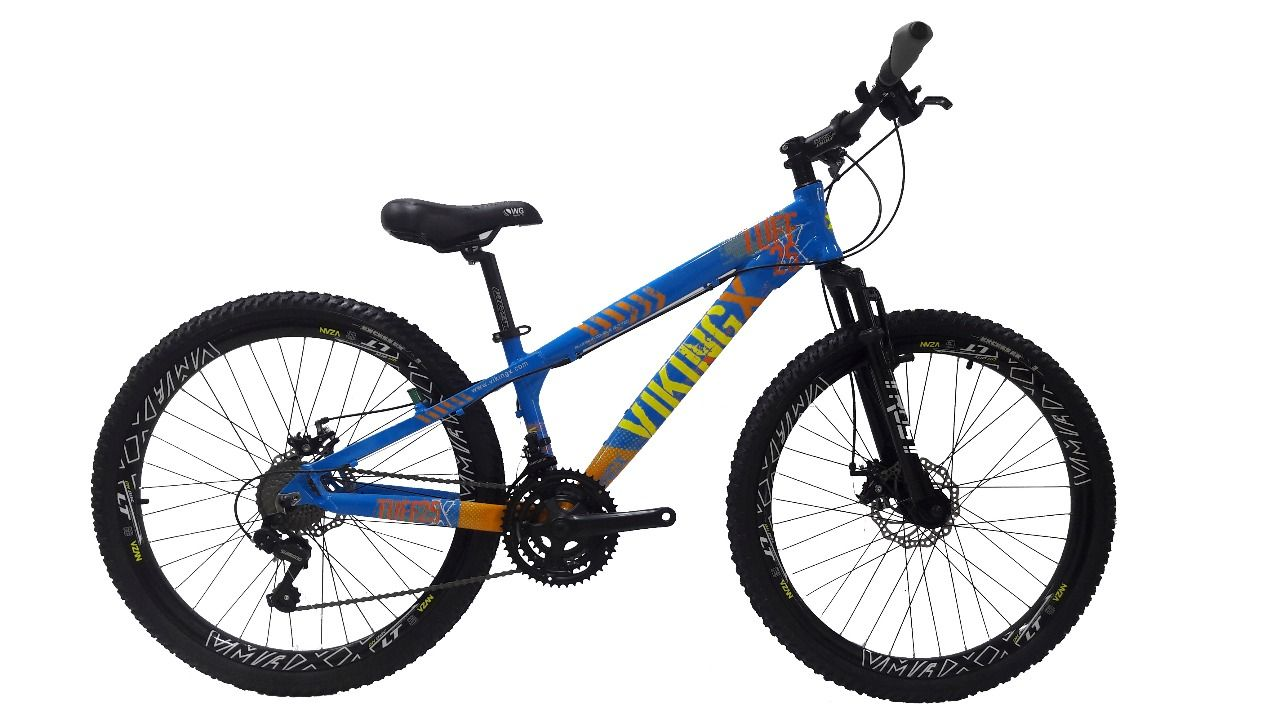 c35a630c99 Bike 26 Freeride Vikingx Tuff 21v Imp Shimano Freio Disco - Londrina ...