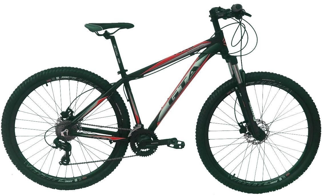 Bike 29er Gta NX9 24v Shimano Freio a Disco Hidraulico Suspensão c/ Trava no Ombro