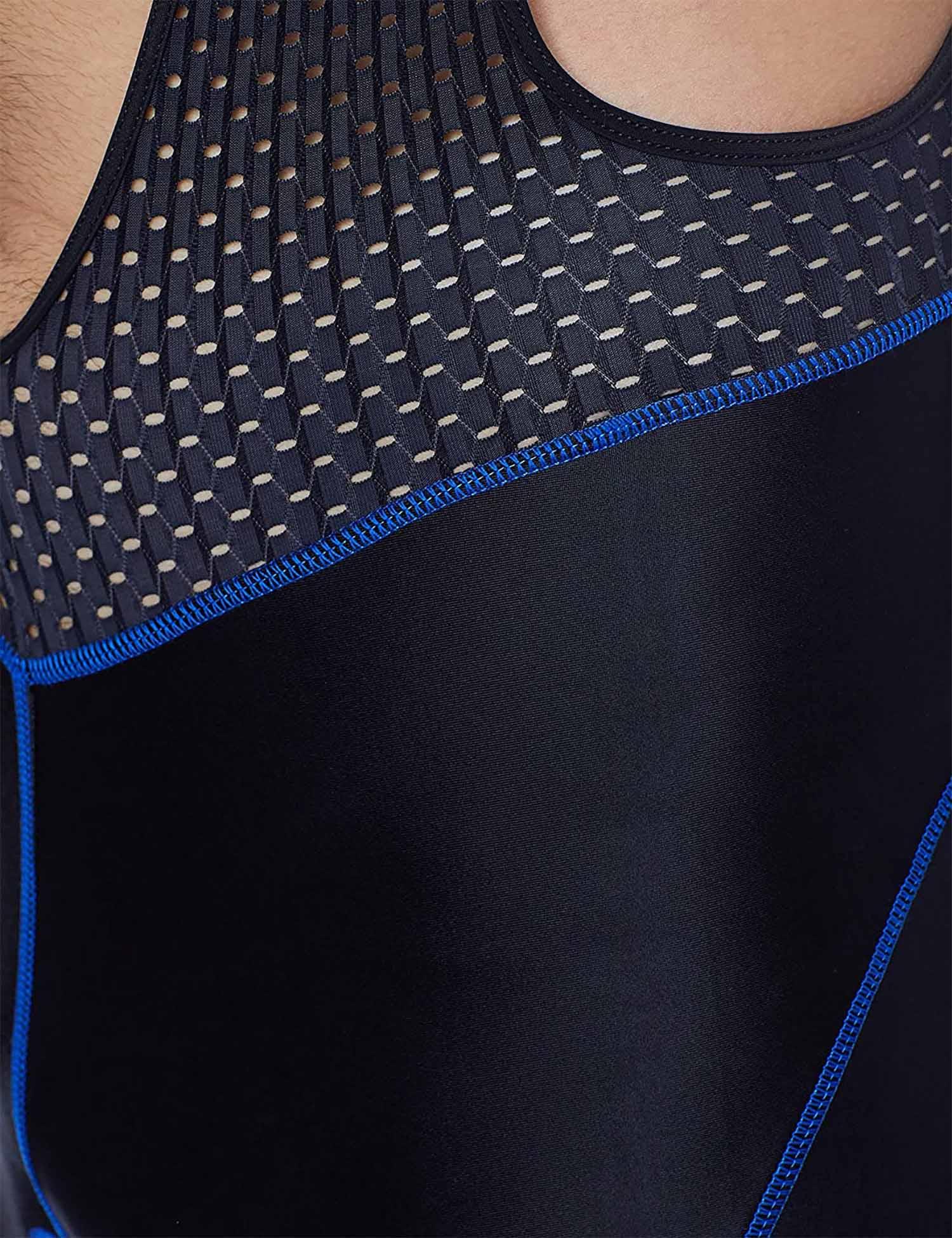 Bretelle Ciclismo Masculino 3Xu Preto/Azul - Refactor