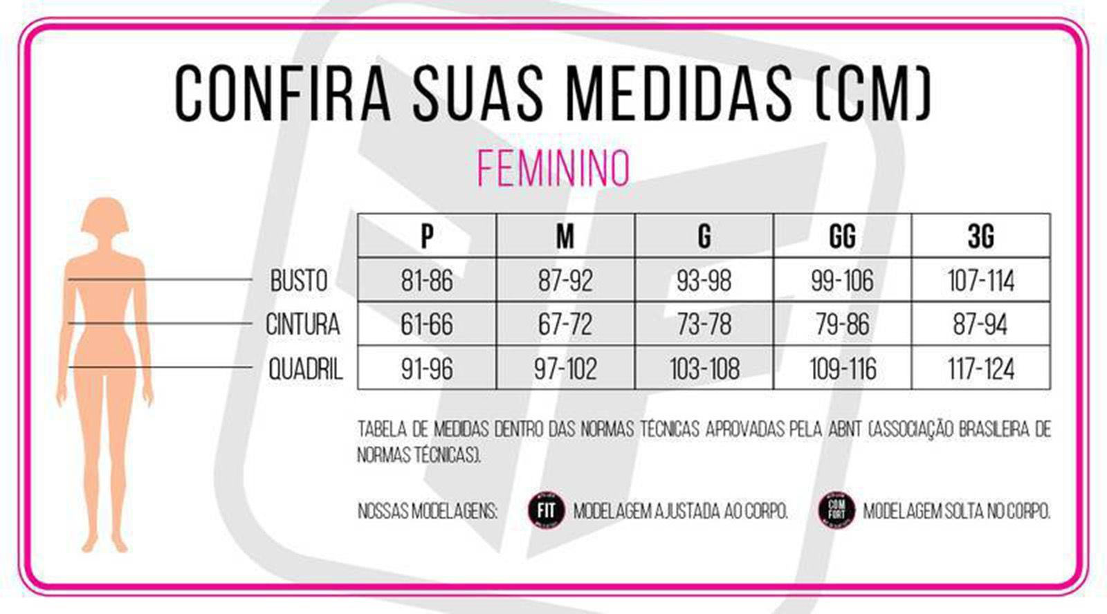 Calça Feminina Ciclismo Sport Forro Invert Comp - Free Force