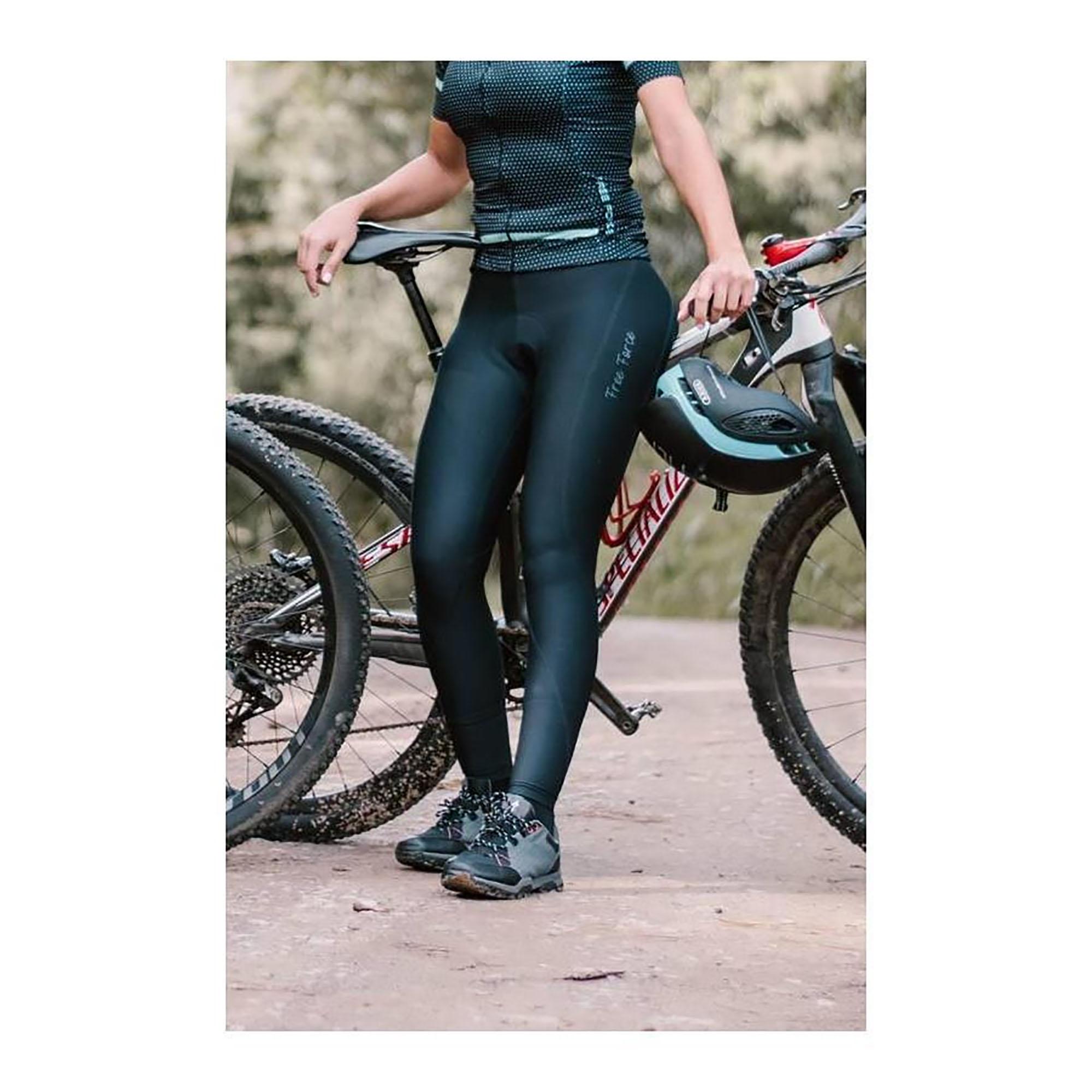 Calça Feminina Ciclismo Sport Mona Forro Invert Comp - Free Force