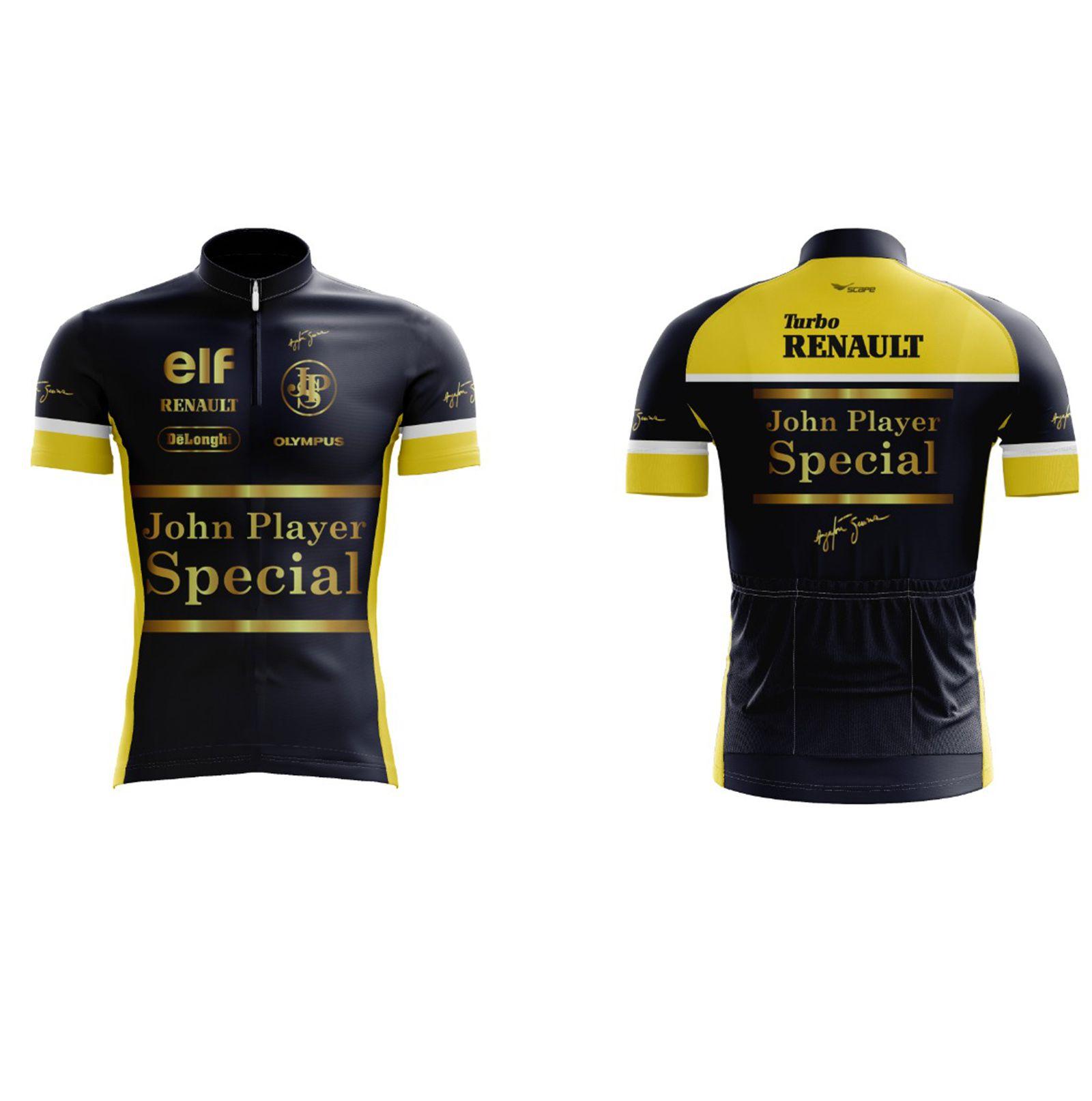 Camisa Ciclismo Ayrton Senna John Player Special  - Scape