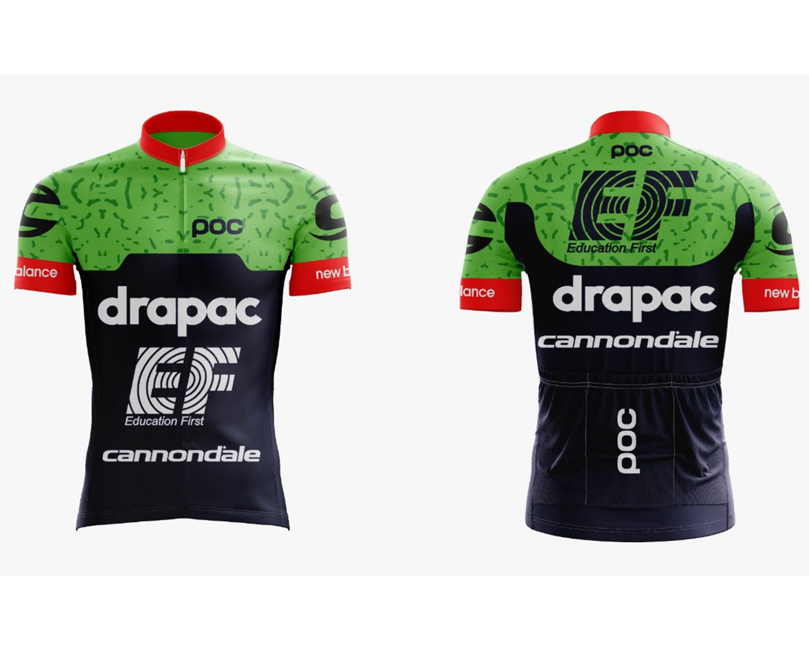 Camisa Ciclismo Cannondale EF - Scape